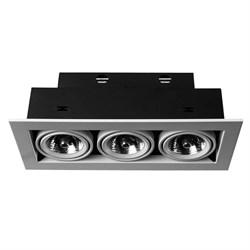 Встраиваемый светильник Arte Lamp Technika A5930PL-3WH