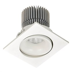 Встраиваемый светодиодный светильник Lucia Tucci Logic 738.1-12W-WT