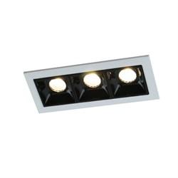 Встраиваемый светодиодный светильник Arte Lamp Grill A3153PL-3BK