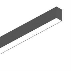 Подвесной светодиодный светильник Ideal Lux Fluo Wide 1800 4000K Bk 192628
