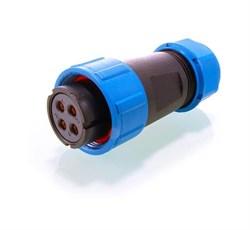 Адаптер 4-полюсный мама Deko-Light adapter Weipu 4-pole female 132614