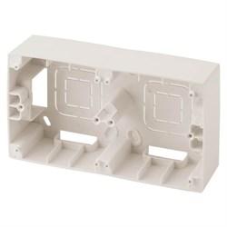 Коробка для накладного монтажа 2-постовая ЭРА 12 12-6102-02 Б0043171