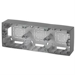 Коробка для накладного монтажа 2-постовая ЭРА 12 12-6102-12 Б0043176