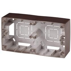 Коробка для накладного монтажа 2-постовая ЭРА 12 12-6102-13 Б0043177