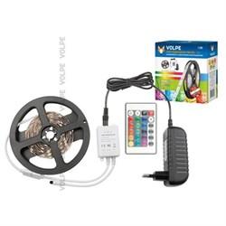 Светодиодная лента Volpe 12W/m 60LED/m 5050SMD RGB 3M ULS-Q221 5050-60LED/m-IP20-3M-RGB RRP36C24 10774
