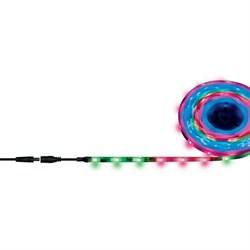Светодиодная влагозащищенная лента Uniel 7,2W/m 30LED/m 5050SMD RGB 5M ULS-F20-5050-30LED/m-10mm-IP65-DC12V-7,2W/m-5M-RGB Smart UL-00001860