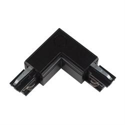 Соединитель для шинопроводов L-образный внешний Uniel UBX-A21 Black 09763