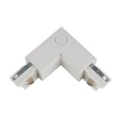 Соединитель для шинопроводов L-образный внутренний Uniel UBX-A22 White 09765