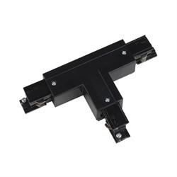 Соединитель для шинопроводов Т-образный, левый, внешний Uniel UBX-A32 Black 09754