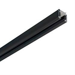 Шинопровод трехфазный Ideal Lux Link Trimless Profile 2000 Mm Bk On-Off 187983