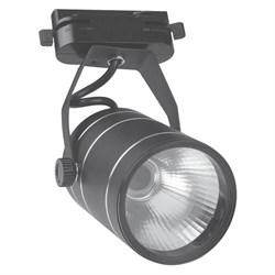 Трековый светодиодный светильник Volpe 4500K ULB-Q251 9W/NW/K Black 10964