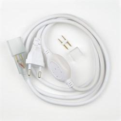 Шнур сетевой для светодиодной ленты Uniel UCX-SP4/B67-RGB White 1 Sticker 07692