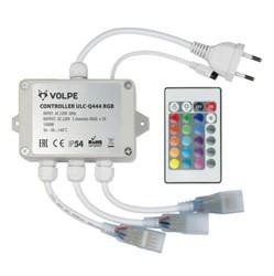 Контроллер для светодиодных RGB лент 220В Volpe ULC-Q444 RGB White UL-00002275