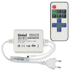 Контроллер для светодиодных одноцветных лент 220В Uniel ULC-N11-Dim White UL-00002277