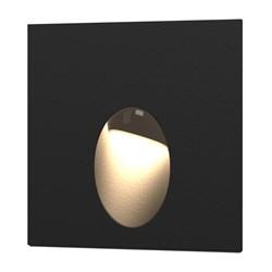 Встраиваемый светодиодный светильник Elektrostandard MRL LED 1102 черный 4690389091278