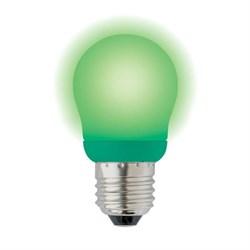 Лампа энергосберегающая Uniel E27 9W Green зеленая ESL-G45-9/GREEN/E27 03039