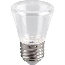 Лампа светодиодная Feron E27 1W 2700K прозрачная LB-372 25909