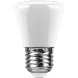 Лампа светодиодная Feron E27 1W 6400K матовая LB-372 25910