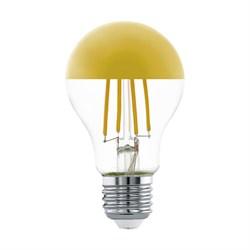 Лампа светодиодная филаментная Eglo E27 7W 2700K золотая 11835