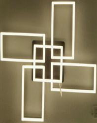 Светодиодная люстра Lighting Angel MX11003-4+1A DIM CR