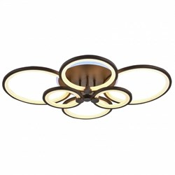 Светодиодная люстра Lighting Angel C8067/4+2 COFFEE