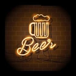 Картина на холсте с LED подсветкой Beer Innova FP00281, 40*40 см (6/162) Б0040130