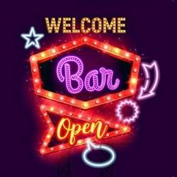Картина на холсте с LED подсветкой Welcome Bar Innova FP00285, 40*40 см (6/162) Б0040133