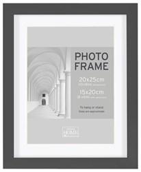 Фоторамка Innova PI01496 Ф/рамка 20*25 cm Block frame под фото 15*20 см, черный, МДФ (4/300) Б0046310
