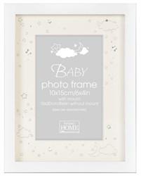 Фоторамка Innova PI08350 Ф/рамка 10*15cm Baby Shiny Stars, белая, МДФ (6/24/288) Б0046318