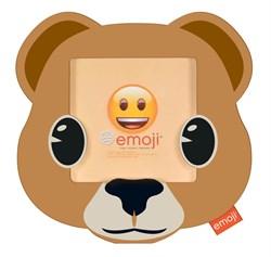 Фоторамка Innova PI09816 Ф/рамка 10*10cm Emoji bear, пластик (6/768) Б0037341