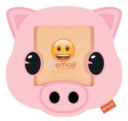 Фоторамка Innova PI09817 Ф/рамка 10*10cm Emoji pig, пластик (6/48/864) Б0037342