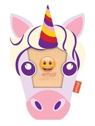 Фоторамка Innova PI09818 Ф/рамка 10*10cm Emoji unicorn, пластик (6/576) Б0037343