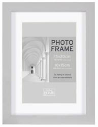 Фоторамка Innova PI09926 Ф/рамка 15*20cm Block frame под фото 10*15 см, серый, МДФ (4/720) Б0046306