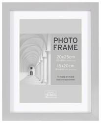 Фоторамка Innova PI09928 Ф/рамка 20*25cm Block frame под фото 15*20 см, серый, МДФ (4/300) Б0046307