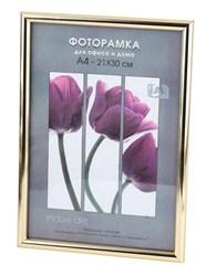 Фоторамка Светосила Радуга 21x30 Золото , со стеклом (25/750) Б0031001