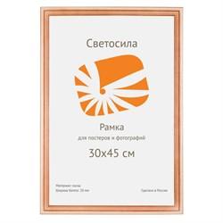 Фоторамка Светосила сосна c20 30х42 (A3) (10шт.) (10/240) Б0030558