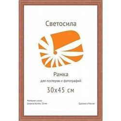 Фоторамка Светосила сосна c20 30х42 (A3) махагон (10шт.) (10/180) Б0030586