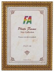 Фоторамка FA пластик 1001 ночь золото 15х21 (40/720) Б0030346