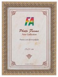 Фоторамка FA пластик 1001 ночь серебро с золотом 15х21 (40/720) Б0030299