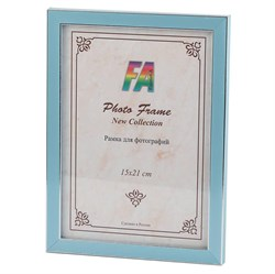 Фоторамка FA Пластик Акварель голубой 30х40 (18/252) Б0039829