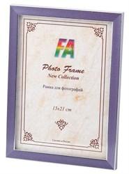 Фоторамка FA Пластик Акварель лиловый 15х21 (40/840) Б0039835