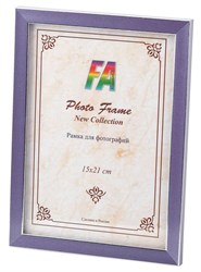 Фоторамка FA Пластик Акварель лиловый 21х30 (32/448) Б0039836