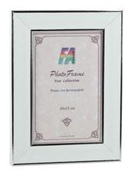 Фоторамка FA Пластик Галерея белое серебро 10х15 (48/1152) Б0039846