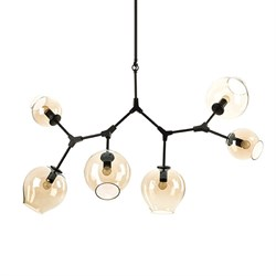 Люстра Branching Bubbles 6 Black by Lindsey Adelman