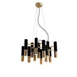 Люстра Delightfull Ike 13 Lamp Black-Gold