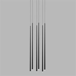 Vibia Slim 6 Black Rectangle by Jordi Vilardell