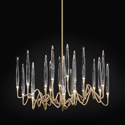 Люстра Round Chandelier Gold D80 by Il Pezzo Mancante