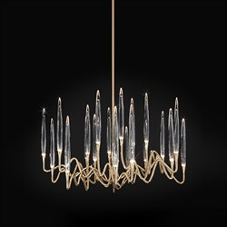 Люстра Round Chandelier Gold D60 by Il Pezzo Mancante