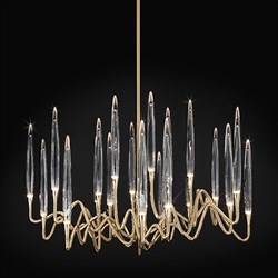 Люстра Round Chandelier Gold D100 by Il Pezzo Mancante