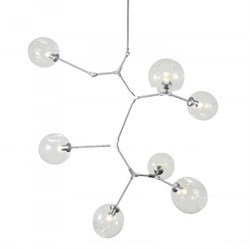 Люстра Branching Bubbles 7 Vertical Nickel by Lindsey Adelman